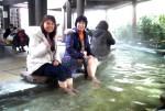 これぞ日本一の足湯!